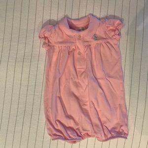 Ralph Lauren One Pieces - Ralph Lauren baby girl onesie